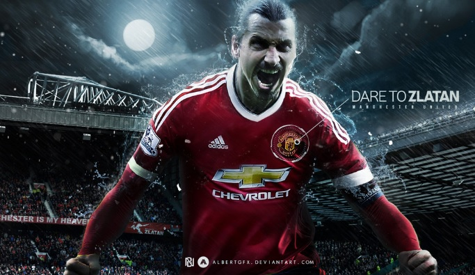 Zlatan Ibrahimovic The Monster | Manchester United