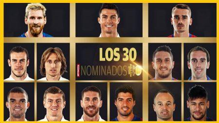 Los 30 Candidatos al Balón de Oro 2016   Ballon d'Or