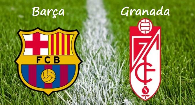 Alineación Barcelona-Granada Jornada 10