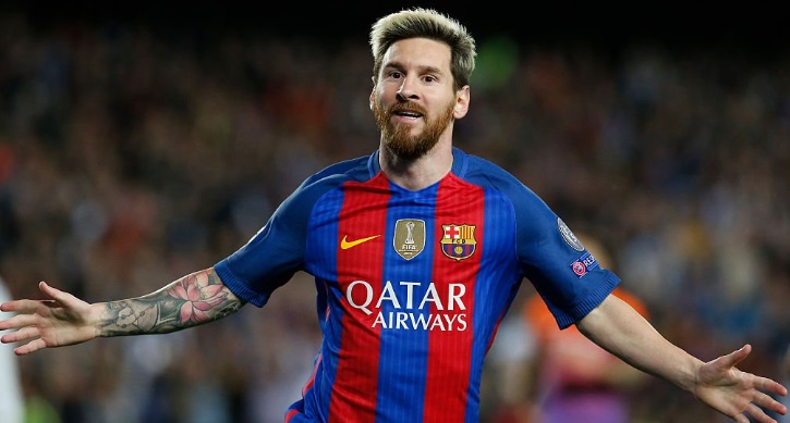 Barcelona-Manchester City Champions 2016 messi hat trick