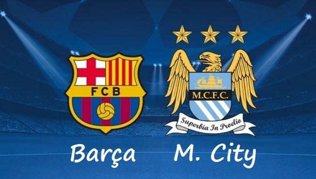 Alineación Barcelona-Manchester City 2016