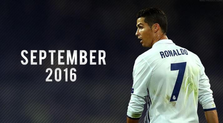 Cristiano Ronaldo Septiembre 2016