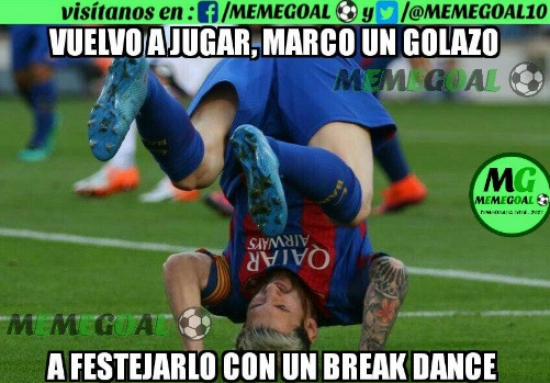 Memes Barcelona-Deportivo 2016.