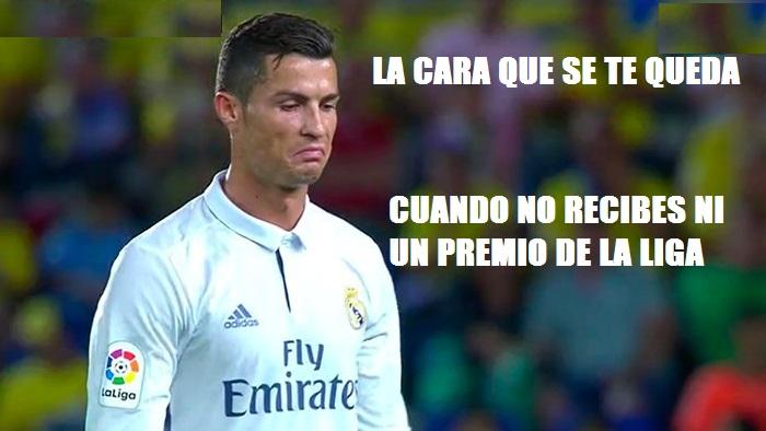 Memes Premios LaLiga 2016