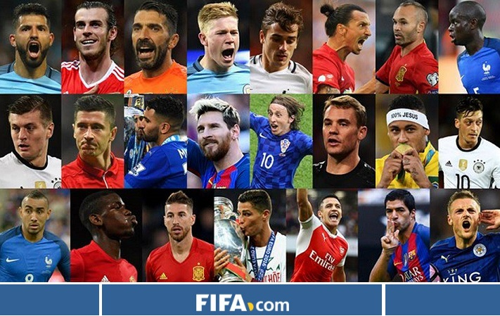 23 candidatos FIFA The Best 2016