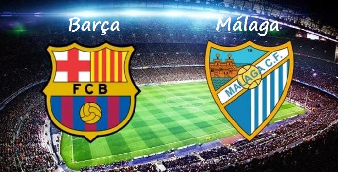 Alineación Barcelona-Málaga Jornada 12