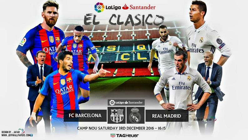 Alineación Barcelona-Real Madrid 2016