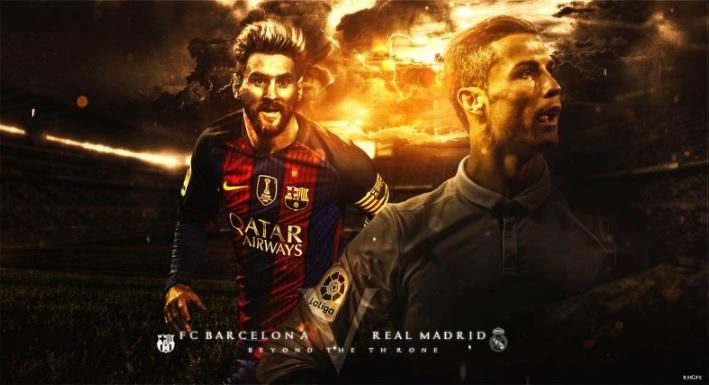 Barcelona vs Real Madrid Promo El Clasico