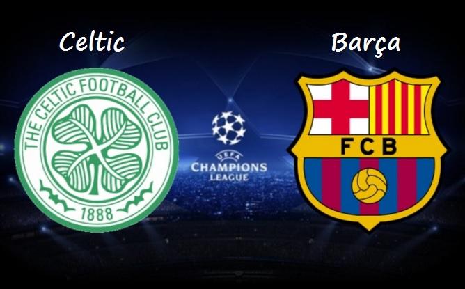 Alineación Celtic Glasgow-Barcelona 2016