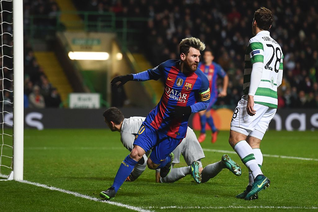 Celtic Barcelona Champions 2016