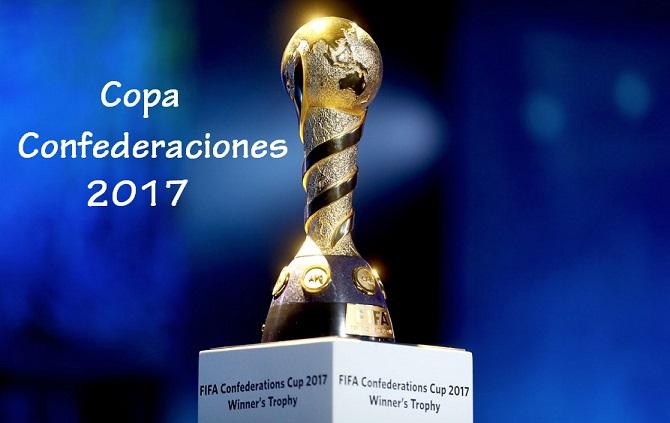 Calendario Copa Confederaciones 2017