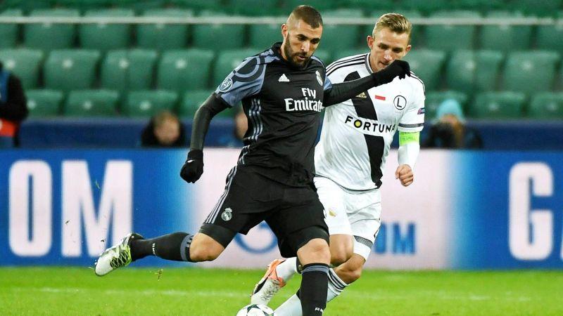 Legia Varsovia Real Madrid Champions