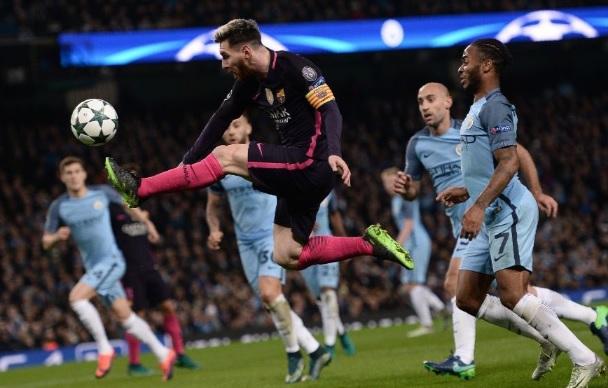 Manchester City Barcelona Champions 2016