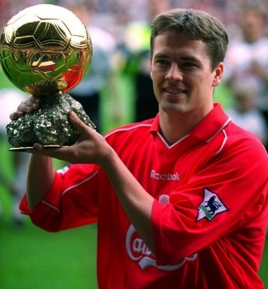 Michael Owen Balón de Oro 2001
