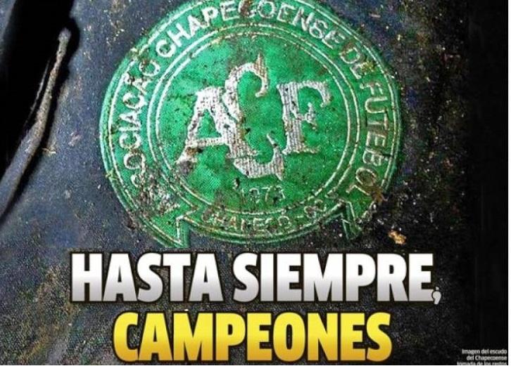 Hasta siempre Campeones, el Chapecoense se va al cielo