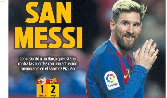 San Messi liquida al Sevilla