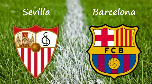 Alineación Sevilla-Barcelona