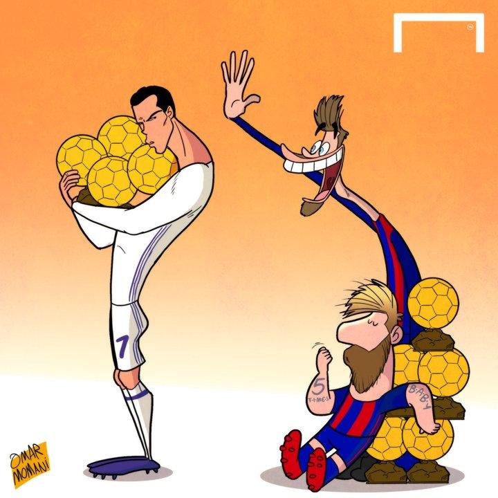 Memes Balón de Oro 2016