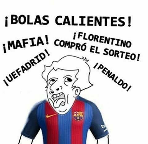 Memes Sorteo Octavos Champions 2016