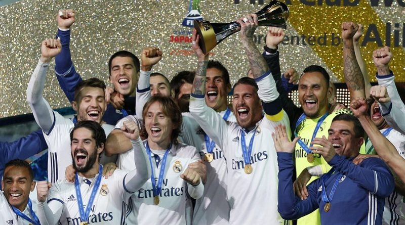 imagenes real madrid campeon mundial de clubes 2016