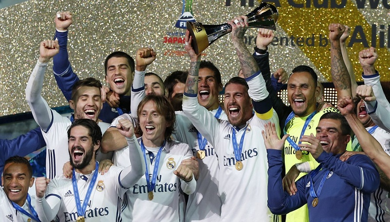 imagenes real madrid campeon mundial de clubes 2016