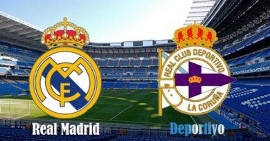 Alineación Real Madrid-Deportivo Jornada 15 | La Previa