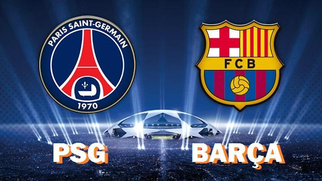 PSG-Barcelona Champions League 2017