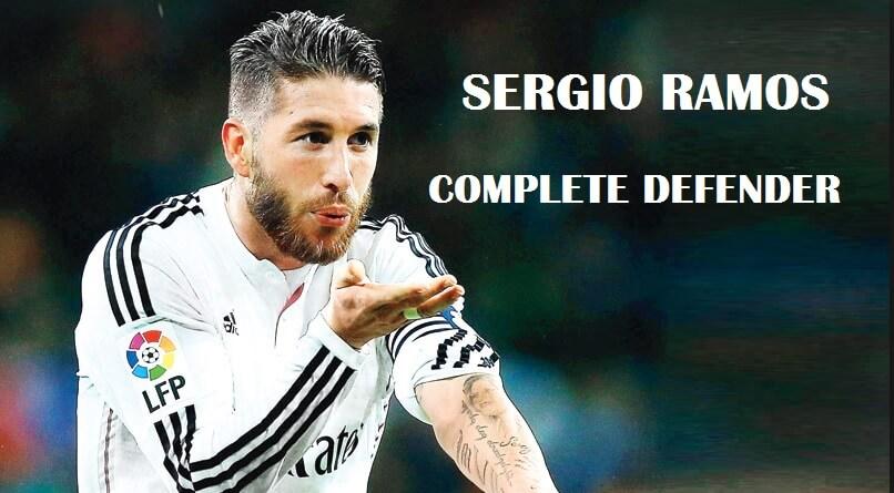 Sergio Ramos el defensor completo