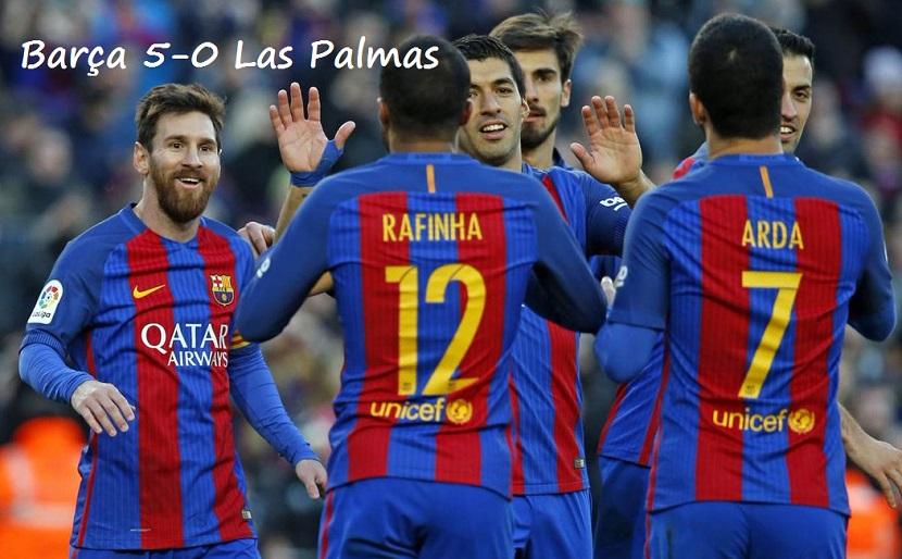Barcelona-Las Palmas 2017