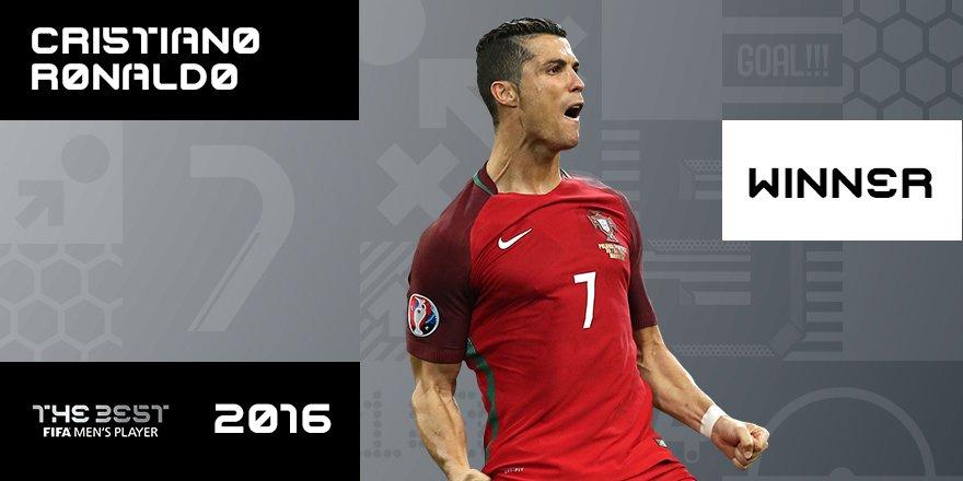 Cristiano Ronaldo FIFA The Best 2016