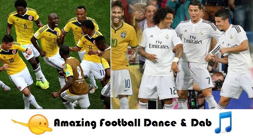 Los mejores Bailes del Fútbol