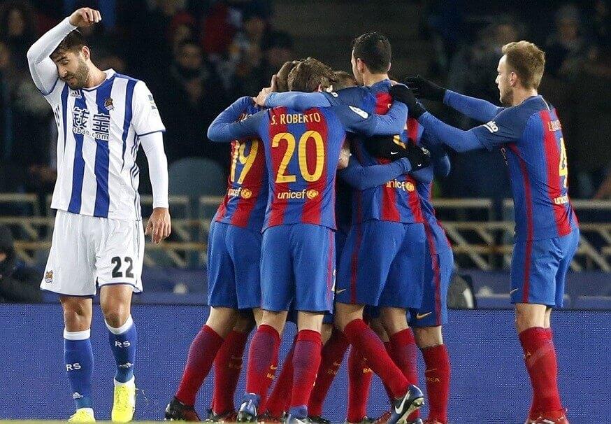 Real Sociedad-Barcelona Copa del Rey