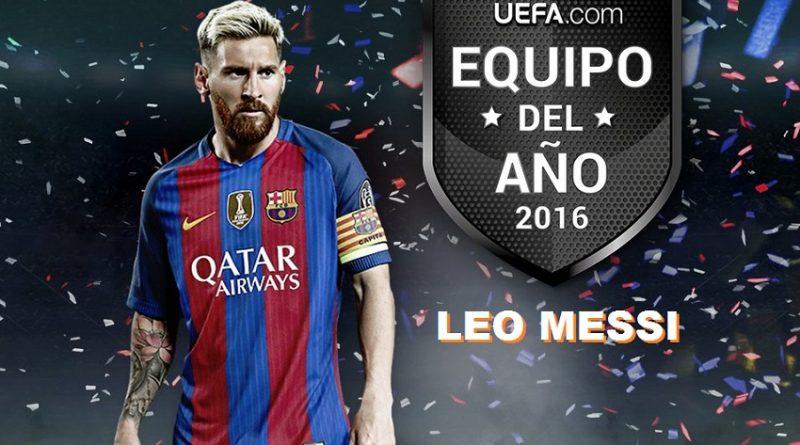 Lionel Messi TOTY UEFA 2016