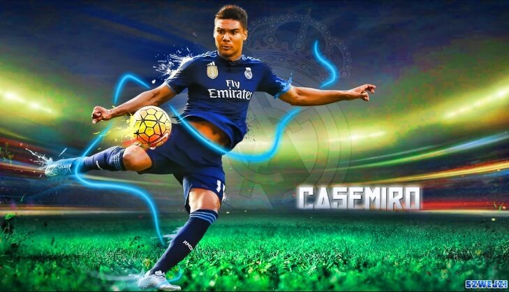 Casemiro Real Madrid 2017