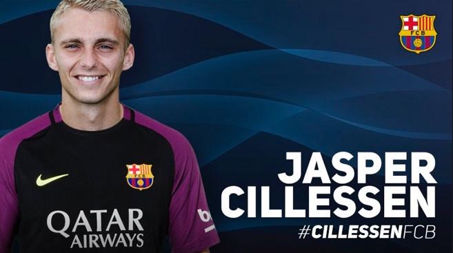 Jasper Cillessen FC Barcelona 2017