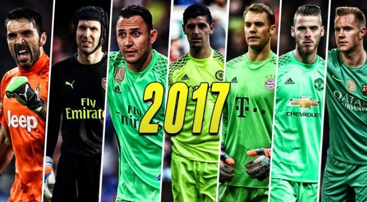 Los mejores porteros del 2017