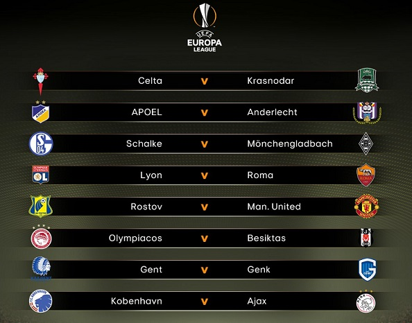 Octavos de final Europa League 2017