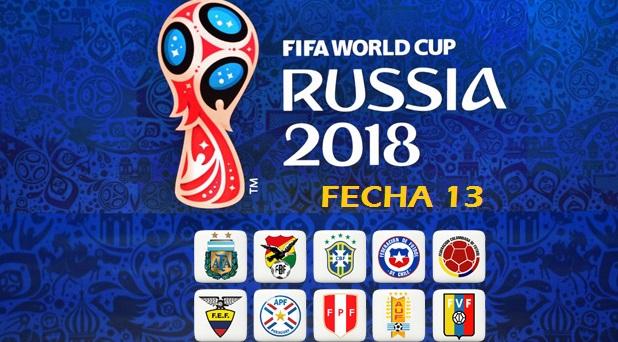 Eliminatorias Sudamericanas Fecha 13
