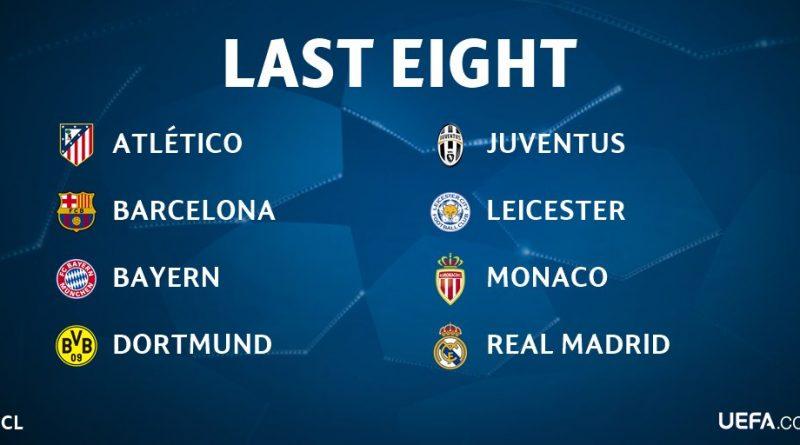 Champions League: cómo quedaron las llaves de cuartos de final