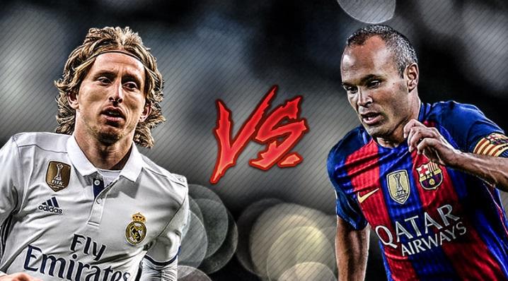 Modric vs Iniesta