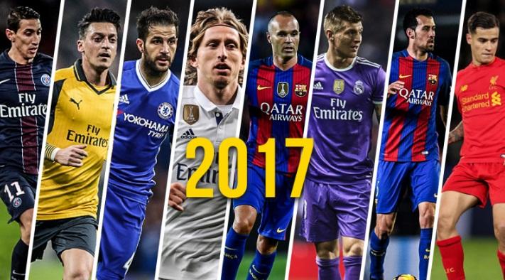 Los mejores centrocampistas del mundo 2017