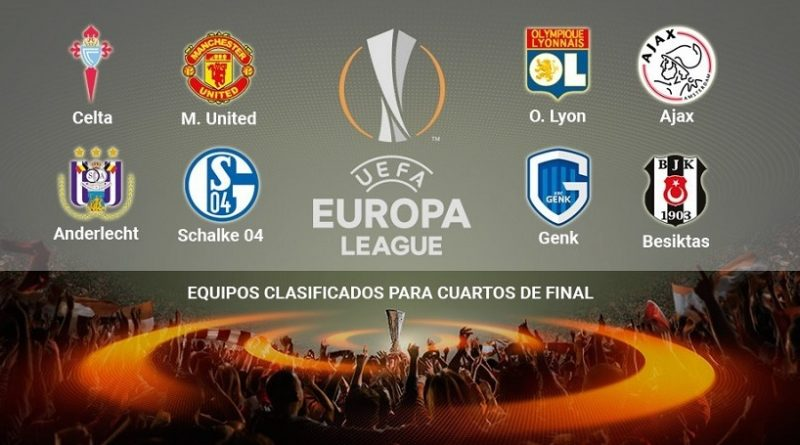 Cuartos de final Europa League 2017 vuelta