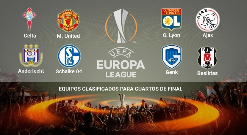 Cuartos de final Europa League 2017 vuelta