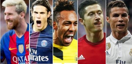 Goleadores Champions League 2017