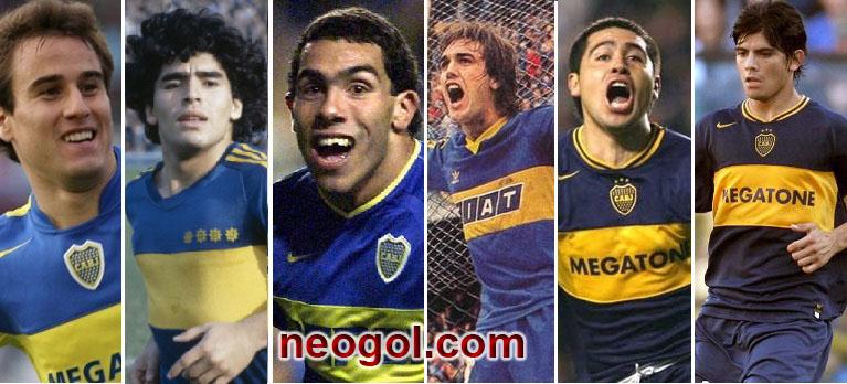Jugadores de Boca que triunfaron en Europa
