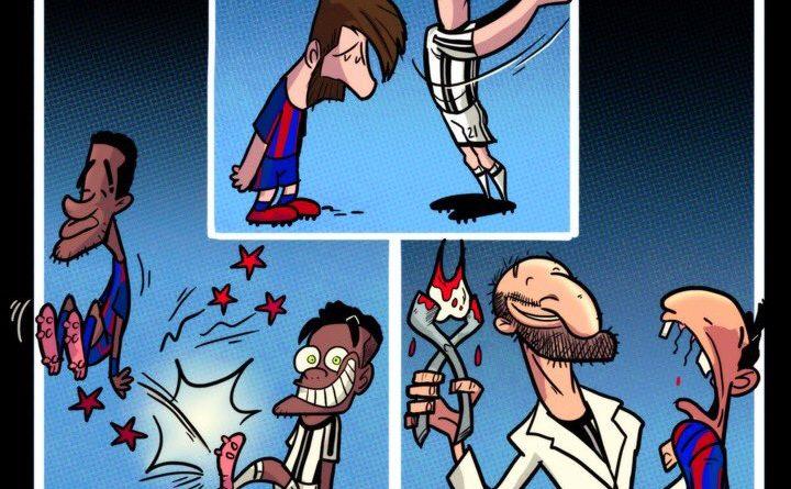 Memes Juventus-Barcelona 2017