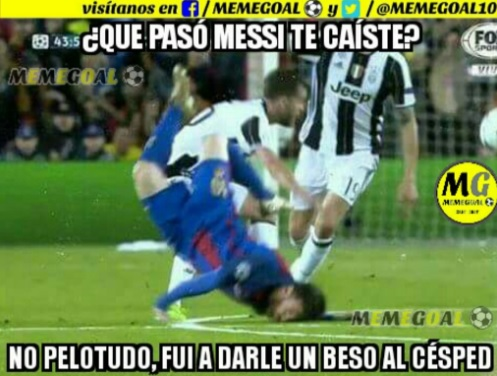 Memes Barcelona-Juventus 2017