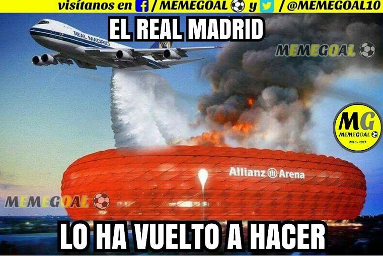Memes Bayern Munich-Real Madrid 2017