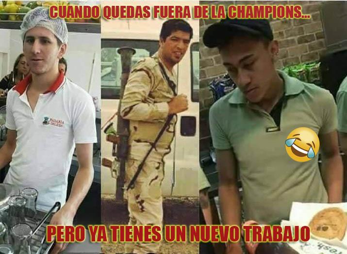 Memes Sorteo Semifinales Champions League 2017