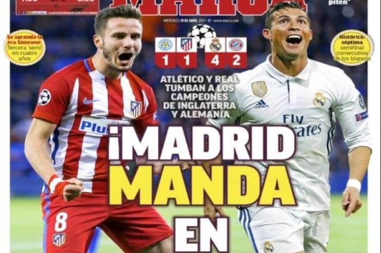 Madrid manda en Europa